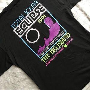 VTG Hawaii Big Island Solar Eclipse 90s Shirt